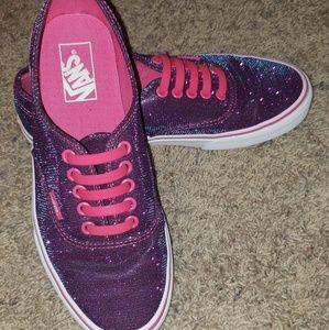 Duochrome Vans Sneakers Barely Worn